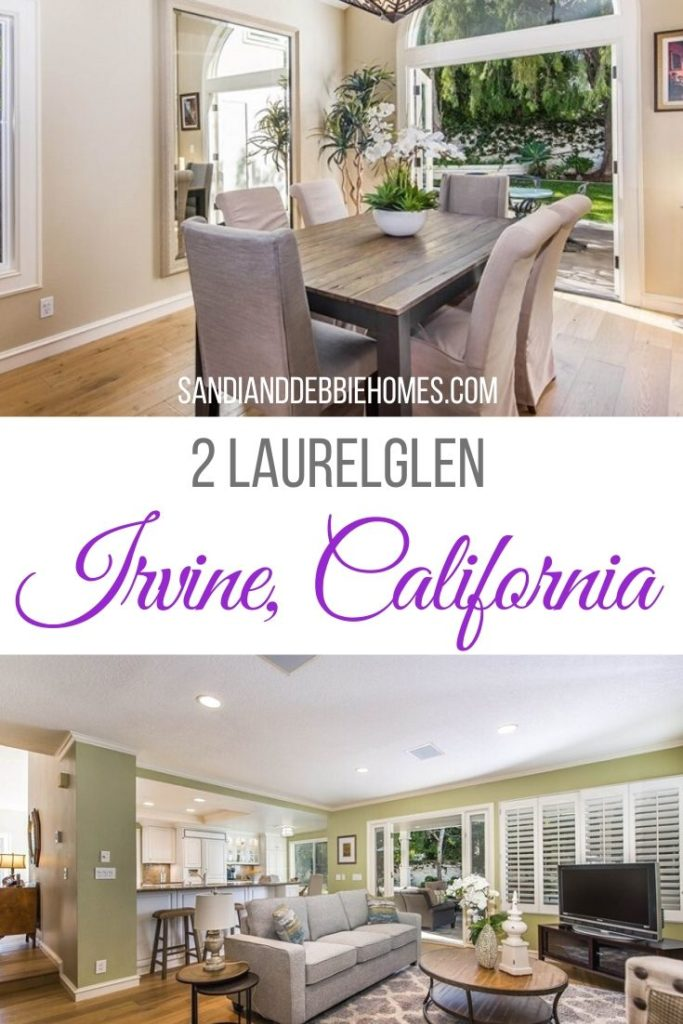 People know Irvine as one of the safest places to live for so many different reasons and now you can live there at 2 Laurelglen.
