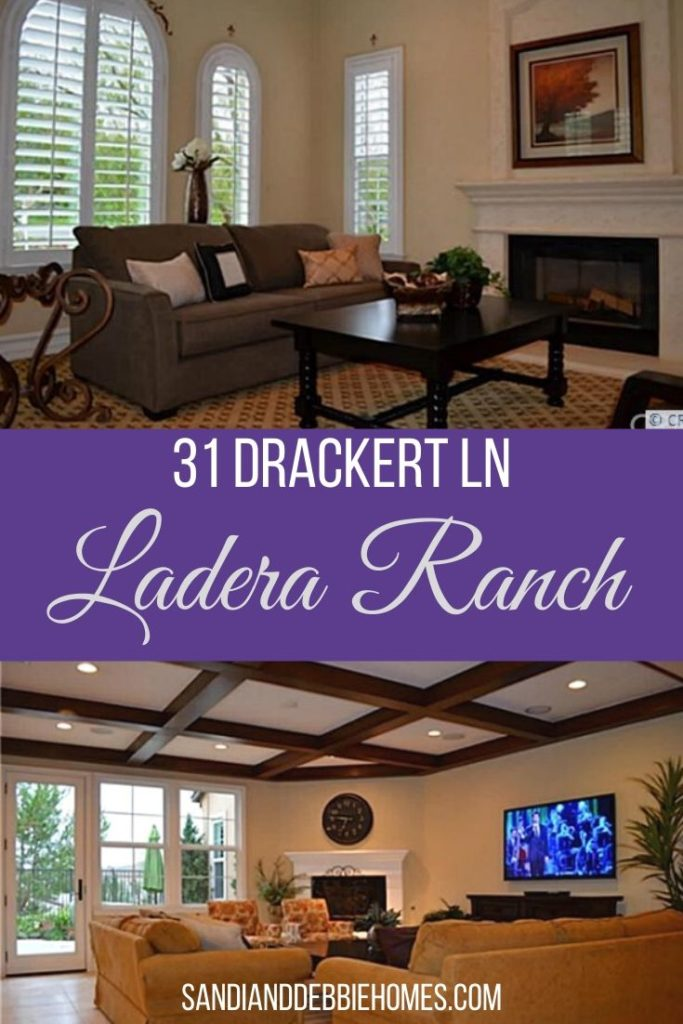 You can discover perfection at 31 Drackert Ln in Ladera Ranch and then call that perfection home for you and your family.