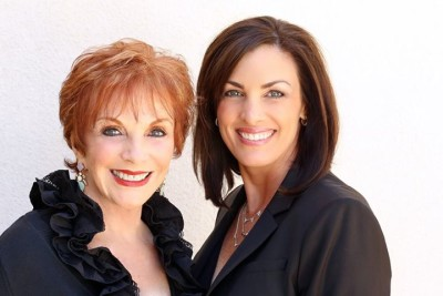 Sandi and Debbie OC Real Estate Team Photo