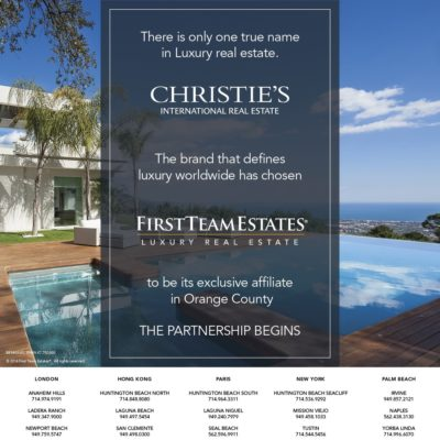 First Team Estates and Christie's International Real Estate