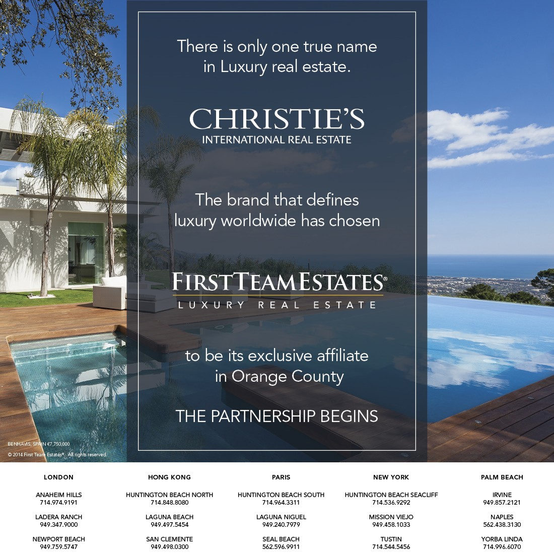 first team estates and christie s international real estate