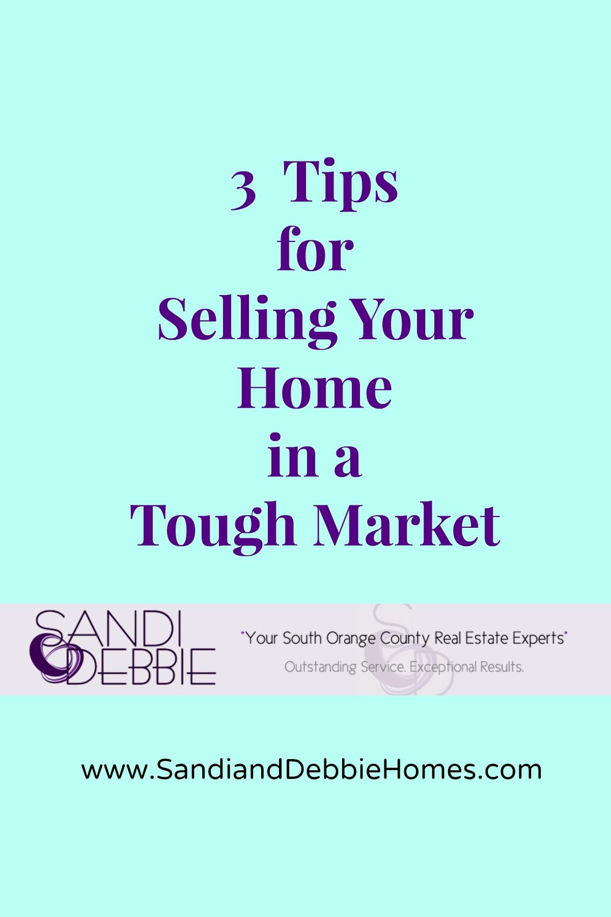 Tips for Selling your Home in a Tough Market