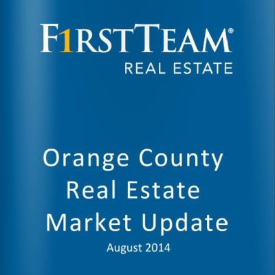Orange County Real Estate Market Update: August 2014