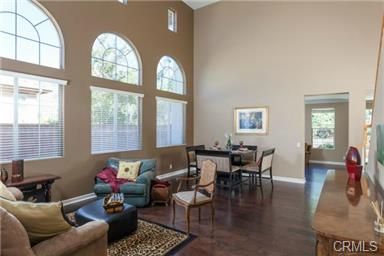 5 Hempstead St Ladera Ranch The cathedral ceilings provide a light and bright living room en