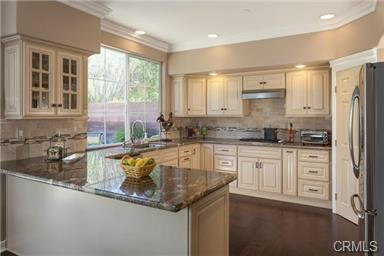 5 Hempstead St Ladera Ranch This custom designed kitchen boasts designer cabinets, stainless