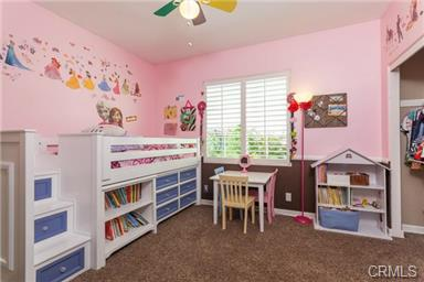 5 Hempstead St Ladera Ranch Secondary bedroom fit for a princess!