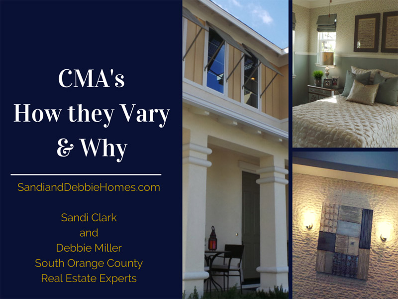 CMAs - How they Vary and Why