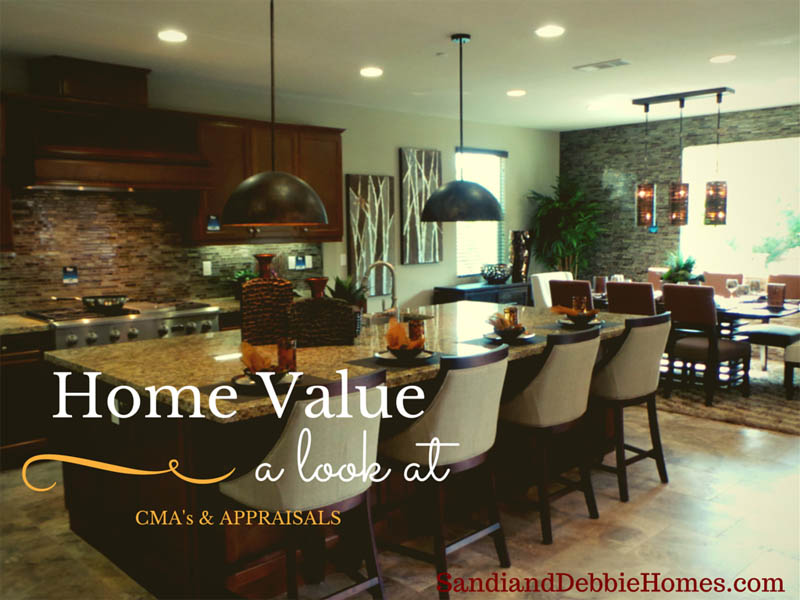 Home Values - A Look at CMAs and Appraisals