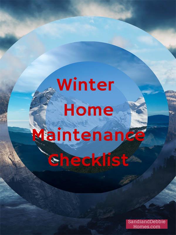 WinterHome Maintenance Checklist