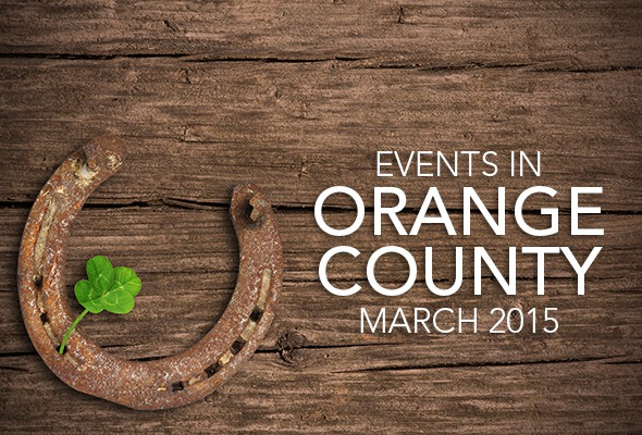 Things to do in Orange County March