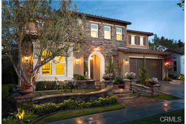 6 Becker Dr Ladera Ranch Magnificent Tuscan estate home with custom landscaping.