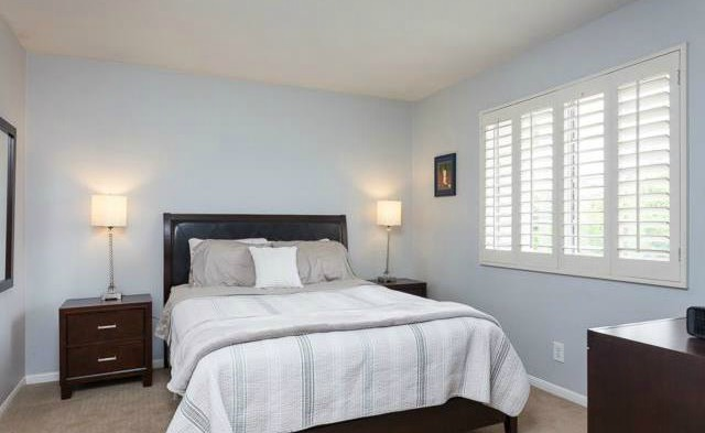 32 Crawford Tustin The secondary bedrooms are spacious with plantations shutters an