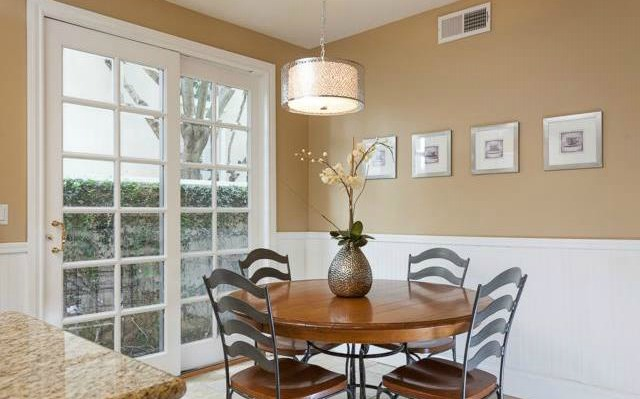 32 Crawford Tustin This eat in kitchen has room for a breakfast table too!