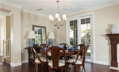 2 Laurelhurst This smart, casual dining area is perfect for a family dinner, a