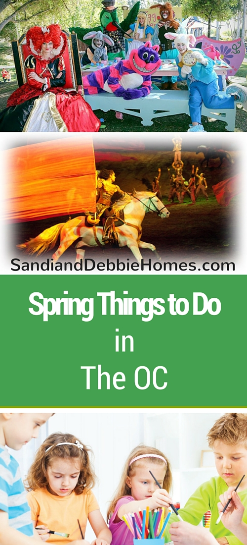Orange County Things to Do During Spring
