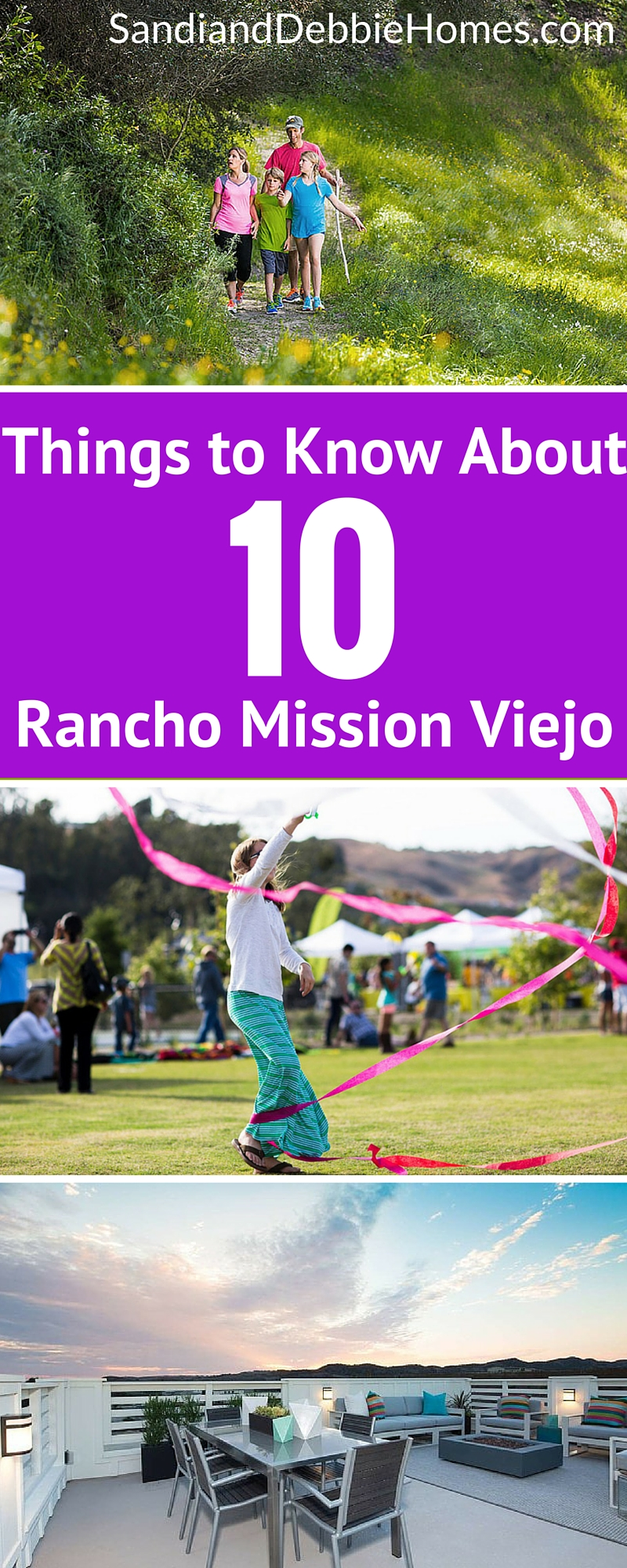 However, if you go to the southernmost part of Orange County, you'll find a very different style of life. Rancho Mission Viejo is where nature lovers go to live while being near to the city life that can be found in northern parts of the county