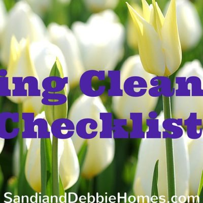 Spring Cleaning Checklist Featured
