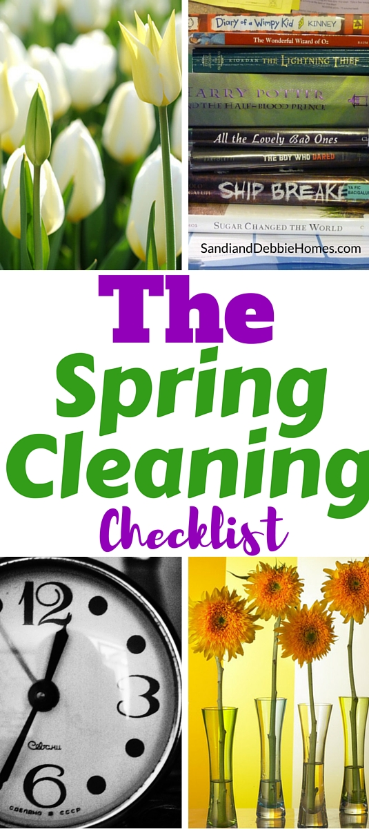 There are a few things you'll need to pull off a great spring cleaning and a spring cleaning checklist is one of them. Will power and energy not included, though the end results may be enough to motivate you properly.