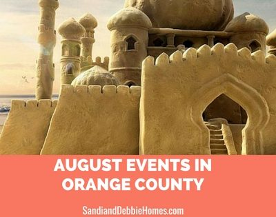 August Events in Orange County