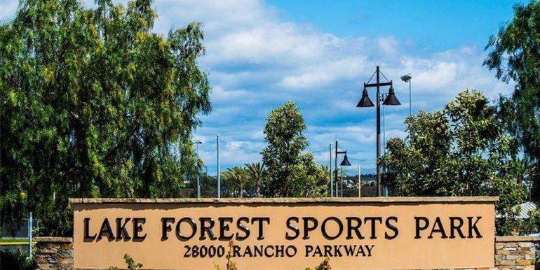 26236 Morning Glen Lake Forest Sports Park