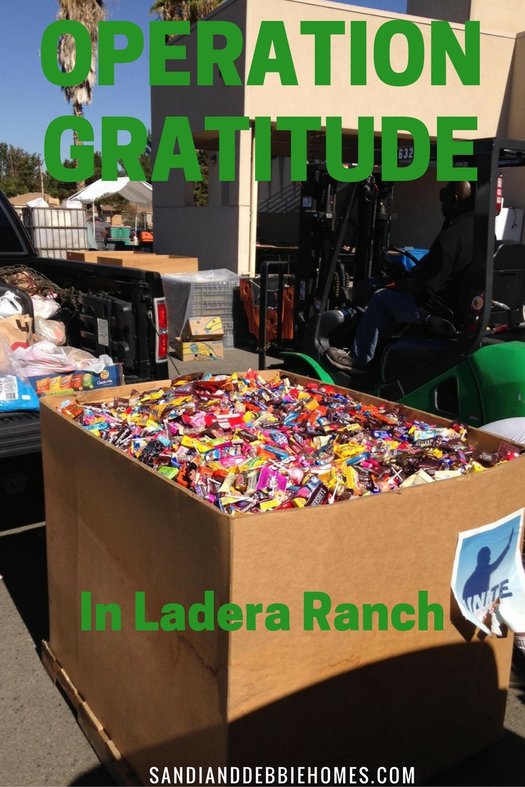 Let's make 2016's Operation Gratitude Drive the most successful yet by donating Halloween candy! If you donate, enter below to win a $100 gift card!