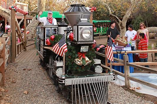 Orange County Holidays 2016 Irvine Park Railroad