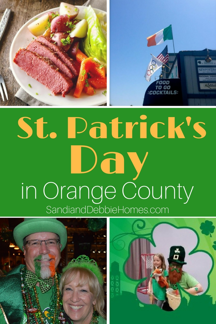 No matter how you spend your St Patricks Day in Orange County be sure to wear green and represent the Irish where you live.
