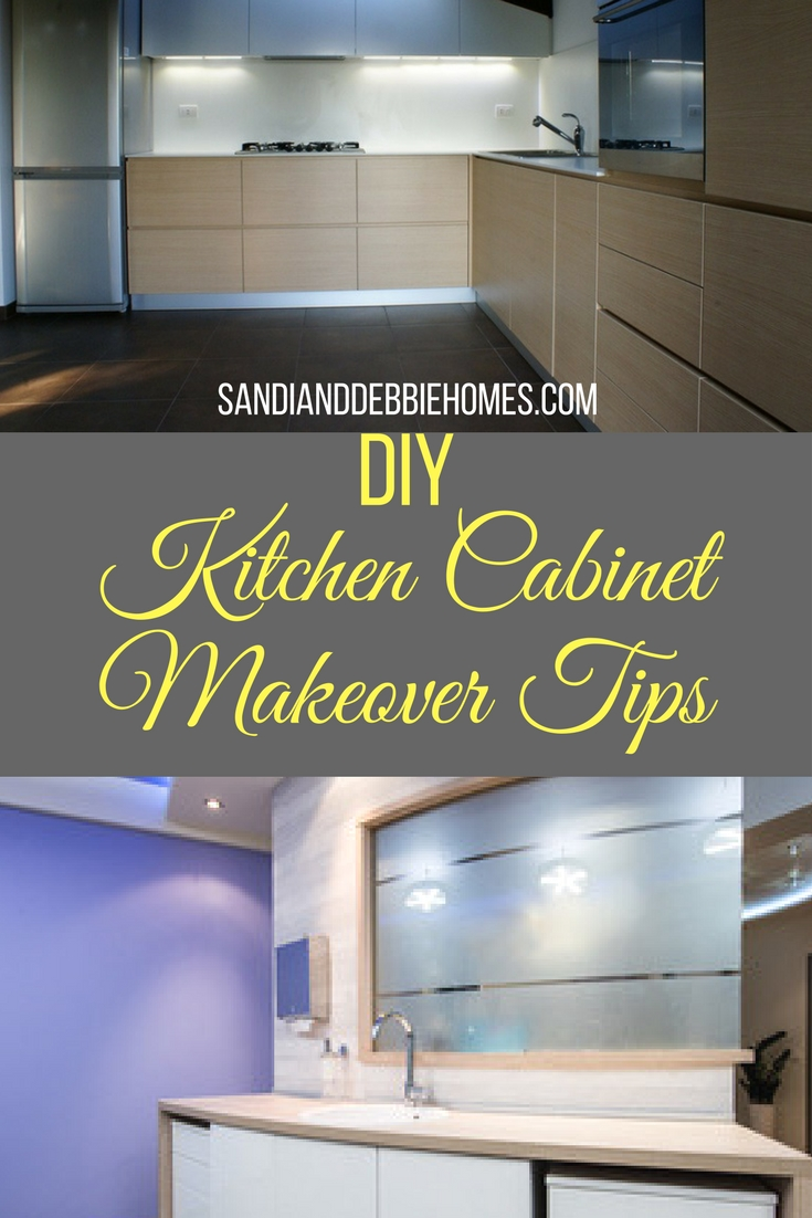 DIY kitchen cabinets will help you get that remodeled look with little effort and little money so you can save for a bigger upgrade later.