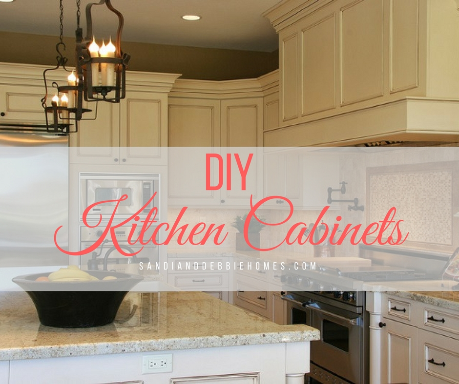 Diy kitchen cabinets to upgrade on a budget sandi clark for Building kitchen cabinets