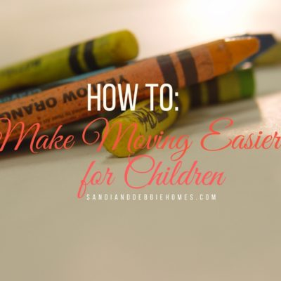 How to Make Moving Easier for Children