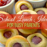 We all could use some easy back to school lunches that are healthy and won't end up coming back home without a bite missing.