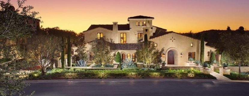 Buying a multi million dollar luxury home in orange county for Mansions in orange county