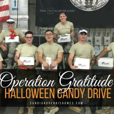2017 Operation Gratitude Halloween Candy Drive