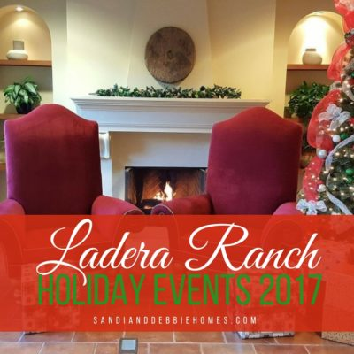 Ladera Ranch Holiday 2017 Activities