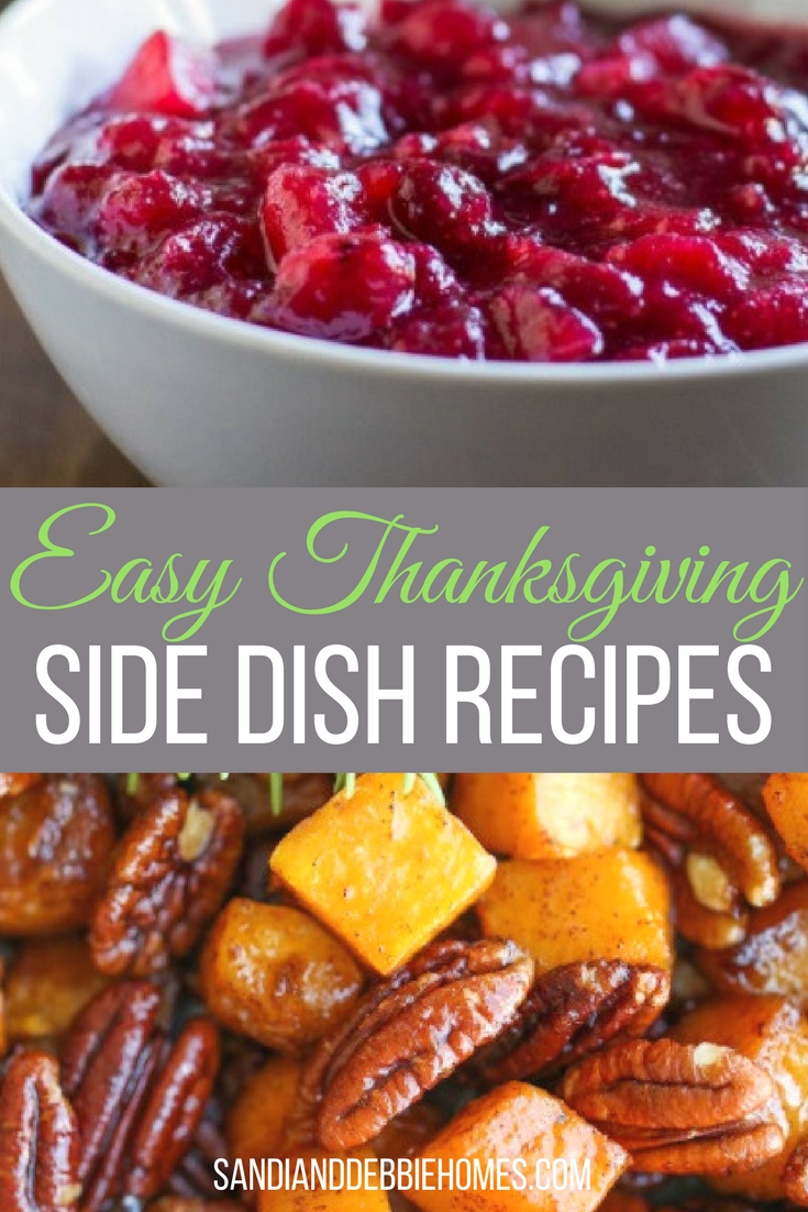 Easy Thanksgiving side dish recipes are the best way to make it through a holiday meal without losing your sanity before you sit to enjoy it all.