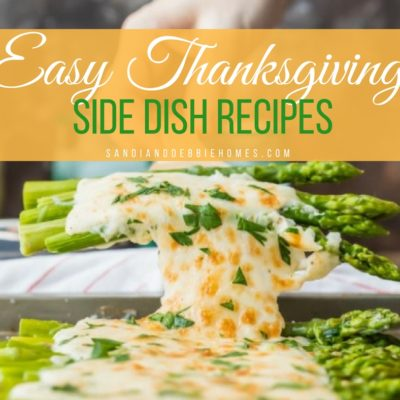 25 Easy Thanksgiving Side Dish Recipes