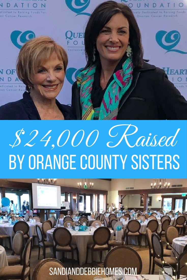 Twin sisters from Orange County lost their mother to ovarian cancer in 1998 and now they're working towards making sure no one else loses theirs.