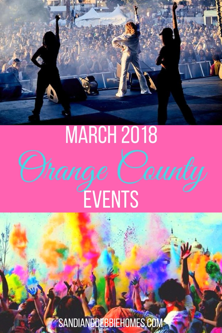 All of the March 2018 Orange County events will let you experience Orange County in ways that only the community knows how.