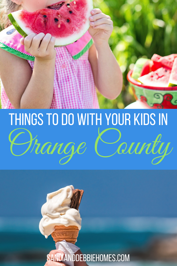 Spend time with the family and let the best things to do with your kids in Orange County help you make memories and keep your children active.