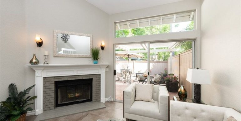 21 Twinberry Aliso Viejo CA Fireplace