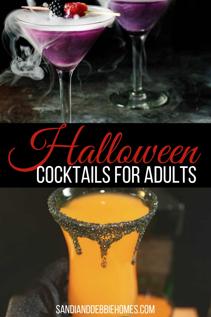 Celebrate the best holiday of the season with some of the best Halloween cocktails for adults that will help you get in the spooky spirit.