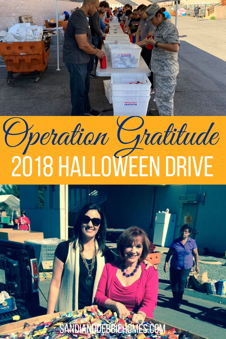 Let the 2018 Operation Gratitude collection be your way to get rid of some of that extra Halloween candy and share it with the armed forces.