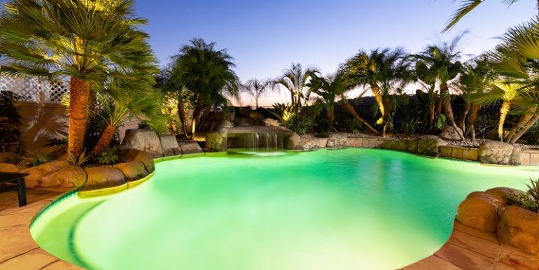 43 Hastings Laguna Niguel Pool At Night