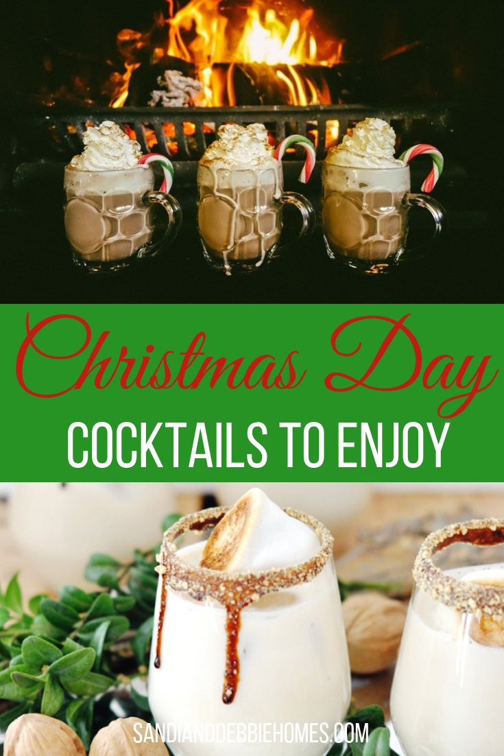Add the most beautiful Christmas day cocktails to your holiday celebrations and liven things up a bit in a responsibly fun way.