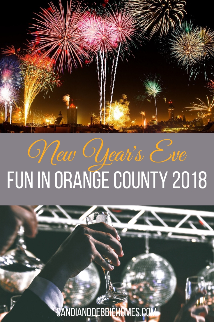 Ring in the new year and have plenty of New Year's Eve fun in Orange County 2018 at one of the many celebrations happening all around.