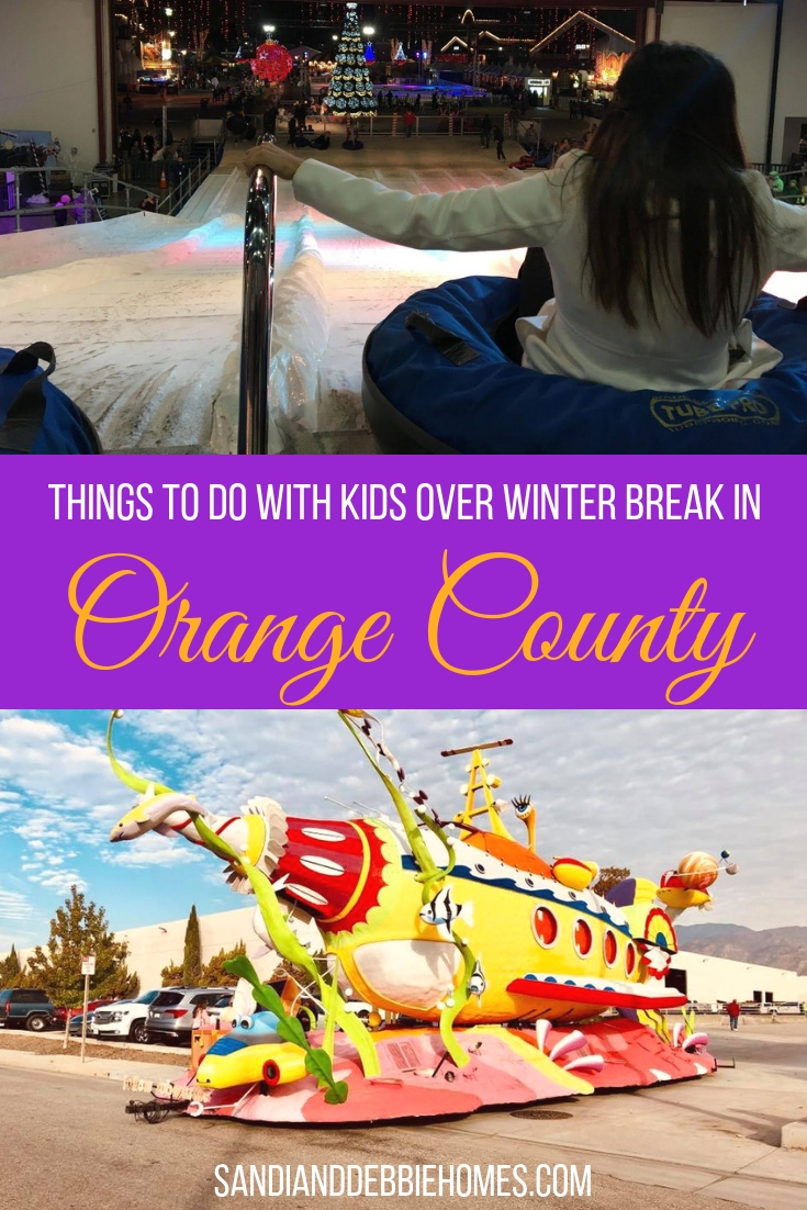 Get out and enjoy the many different things to do with kids over winter break in Orange County and discover what really makes Orange County amazing.