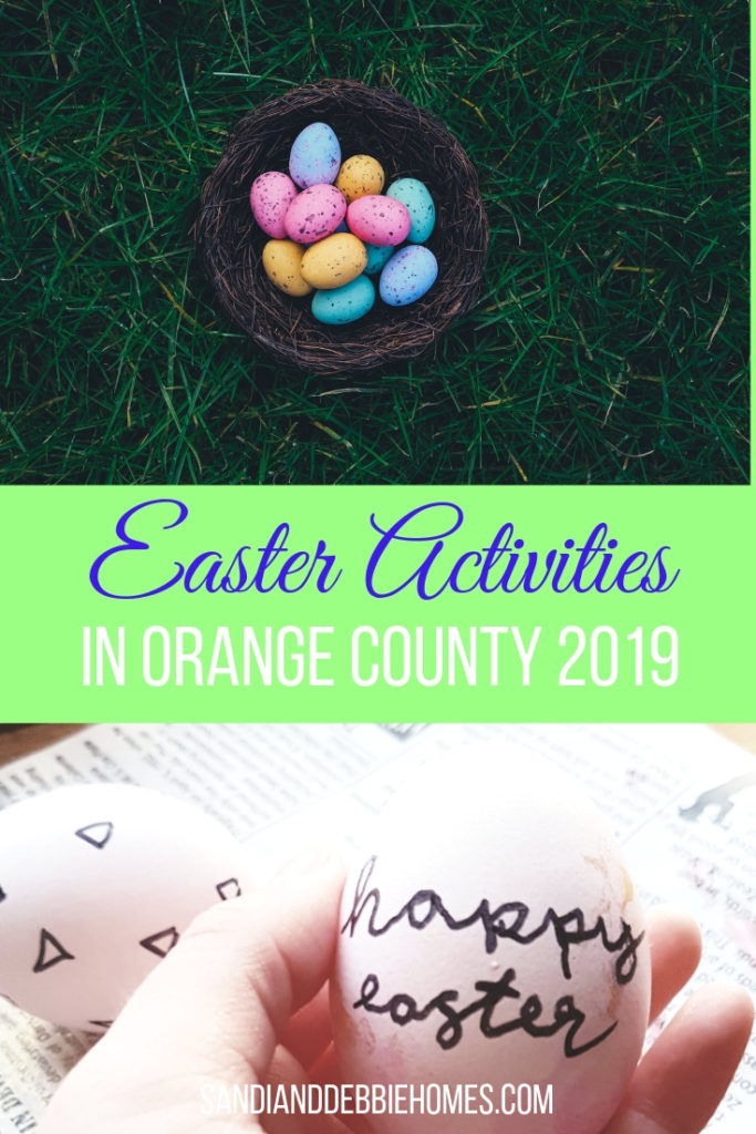 Everyone is invited to come out and enjoy the 2019 Easter activities in Orange County to celebrate the holiday and spring.