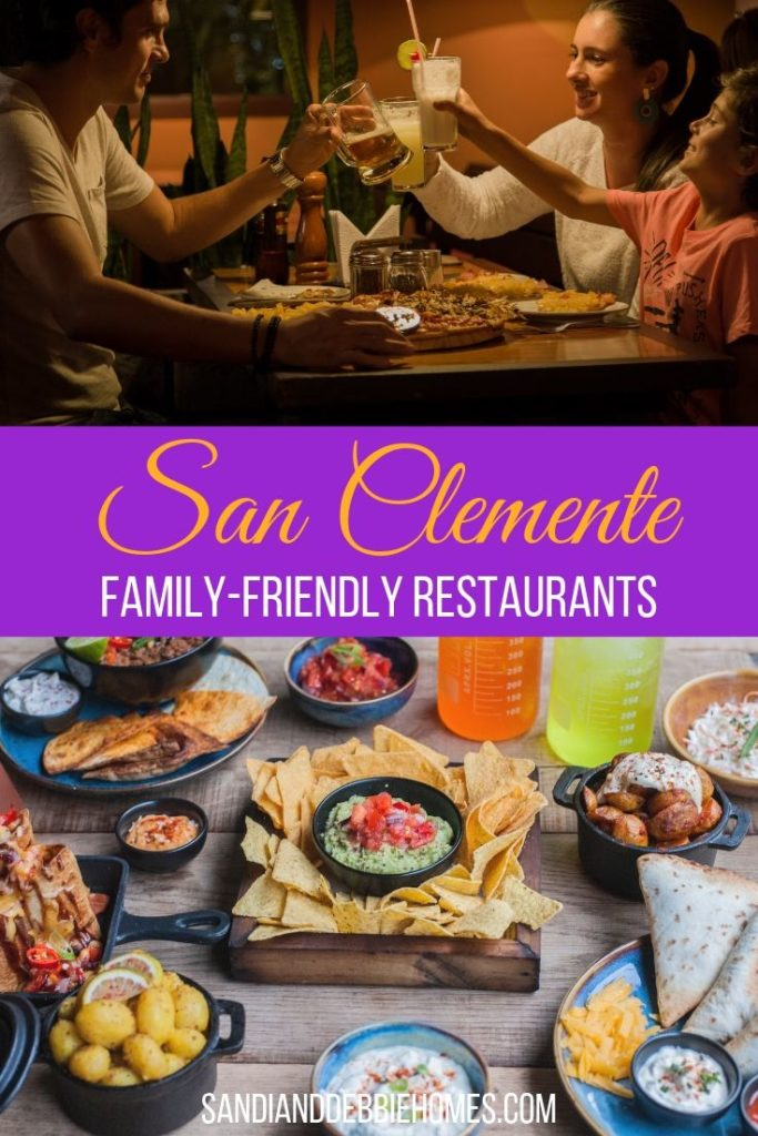 There's nothing wrong with most chain restaurants but the best food is found at the best San Clemente restaurants for families.