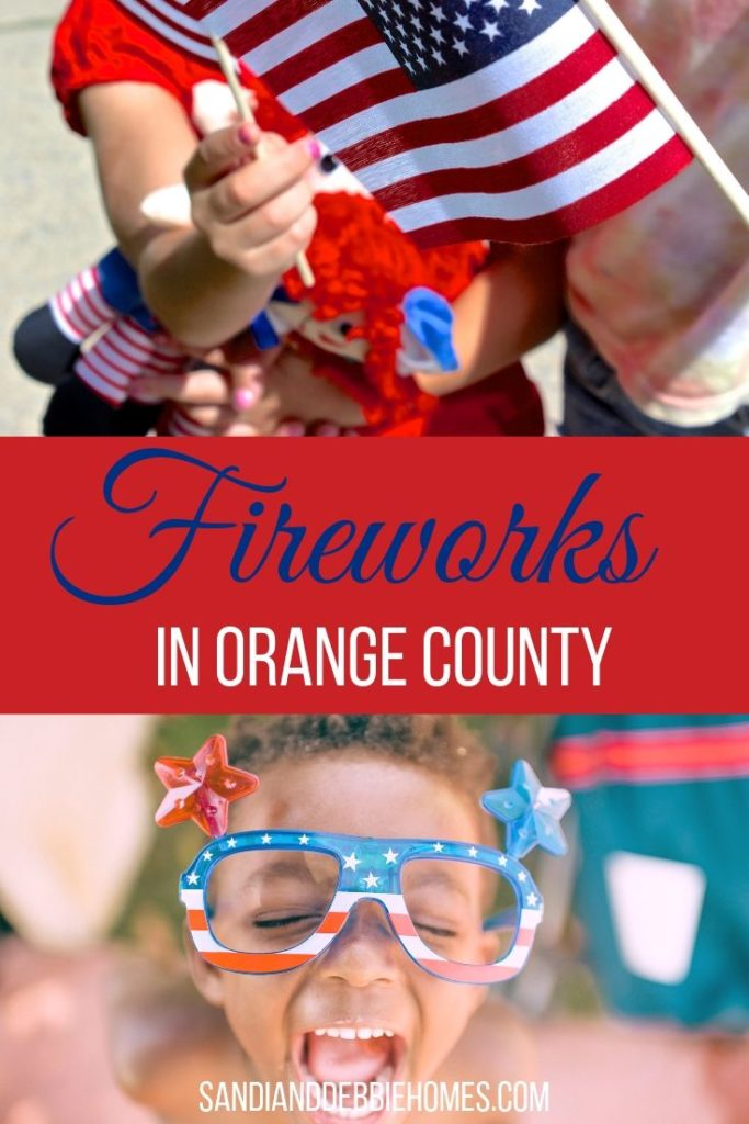 Decide on which of the places to watch fireworks in Orange County before heading out for a magical summer night filled with excitement.
