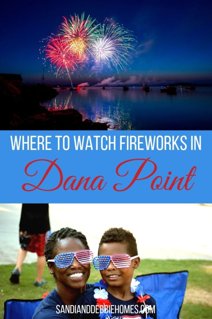 There are a few different places where to watch fireworks in Dana Point and each of those places offer the best views in the city.